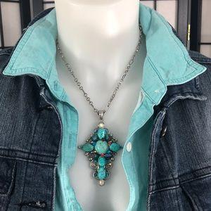 Jewelry - Fashion turquoise cross
